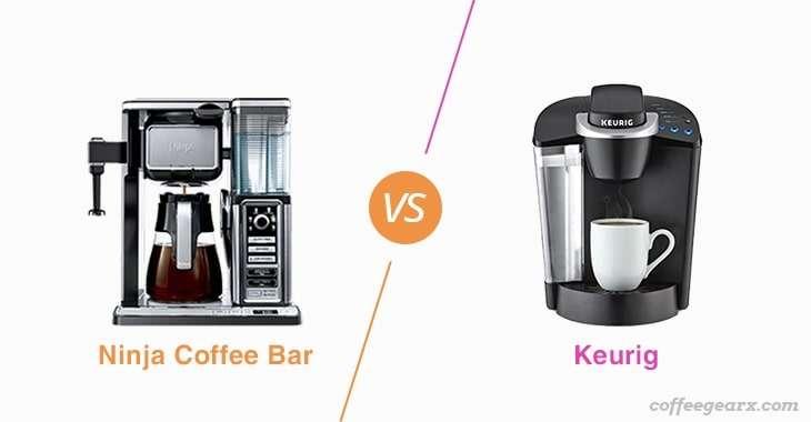 Ninja Coffee Bar vs. Keurig
