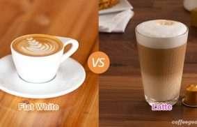 Flat White vs. Latte