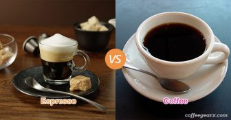 Espresso vs. Coffee