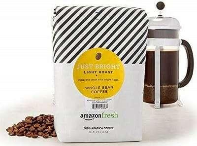 AmazonFresh Just Bright Light Roast Coffee Bean