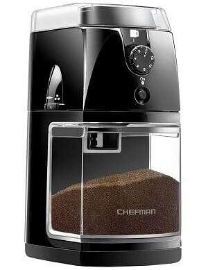 Chefman Electric Burr-Freshly Coffee Grinder