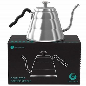 Coffee Gator Fixed Thermometer Pour-Over Kettle