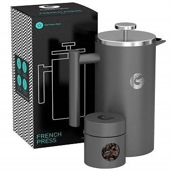 Coffee Gator Large French Press Coffee Maker