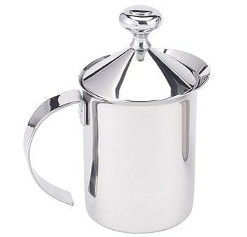 HIC Milk Creamer and Frother with Handle and Lid