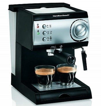 Hamilton Beach 40715 Espresso Machine with Steamer