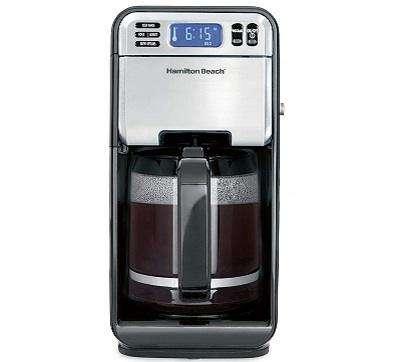 Hamilton Beach 46205 Programmable Coffee Maker