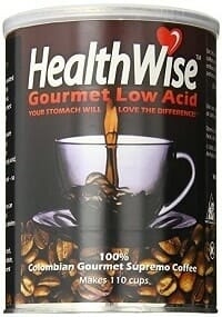 HealthWise Gourmet Low Acid Coffee