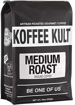 Koffee Kult Medium Roast Ground Coffee