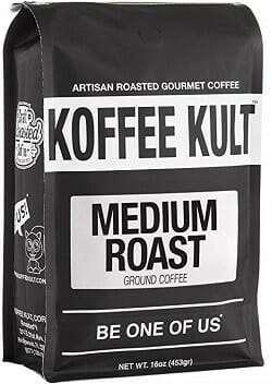 Koffee Kult Medium Roast Ground Coffee