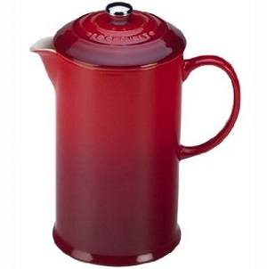 Le Creuset Stoneware French Press Coffee Maker