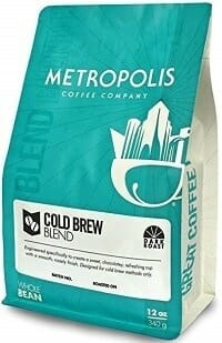 Metropolis Coffee Company Dark Roast Cold Brew Coffee