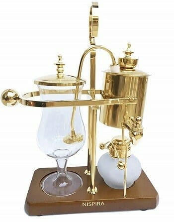 Nispira Belgian Luxury Royal Siphon Coffee Maker
