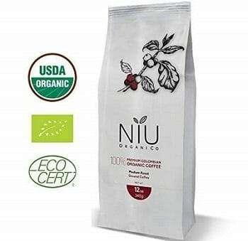 Niu Organico Colombian Organic Low Acid Coffee