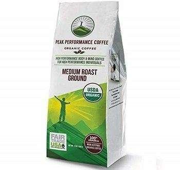 Peak Performance Organic Ground Coffee