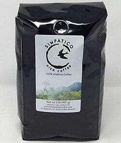 Simpatico Decaf Low Acid Coffee, Dark Roast