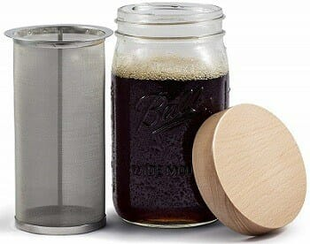 Simple Life Cycle Mason Jar Cold Brew Coffee Maker