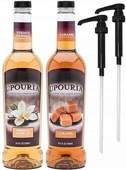 Sunny Sky Upouria Vanilla & Caramel Syrup