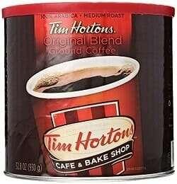 Tim Hortons 100% Arabica Original Blend Ground Coffee