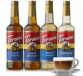 Torani Variety Pack Caramel, French Vanilla, Vanilla & Hazelnut
