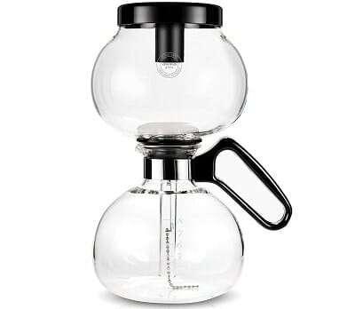 Yama Glass 8-Cup Stovetop Siphon Coffee Maker