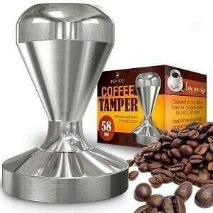Benicci American Convex Base Espresso Tamper