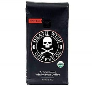 Death Wish Organic USDA Whole Bean Coffee