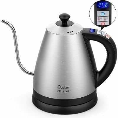 Doctor Hetzner Electric Kettle with Variable Temperature