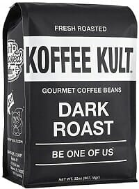 Koffee Kult Dark Roast: Coffee Bean