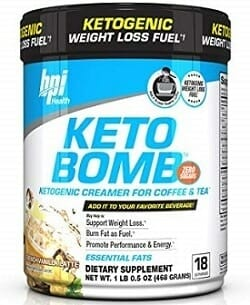 BPI Sports Keto Coffee Creamer