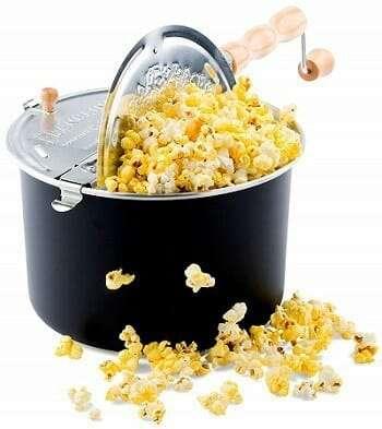 Franklin's Gourmet Popcorn Original Whirley Popcorn Popper