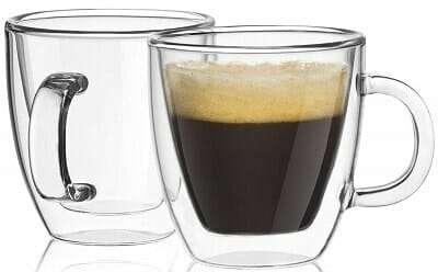 JoyJolt Savor Double Wall Espresso Mug