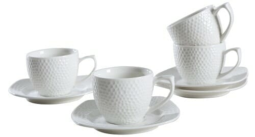 Solecasa Espresso Cup and Saucer Set