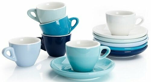 Sweese Porcelain Espresso Cup with Saucers
