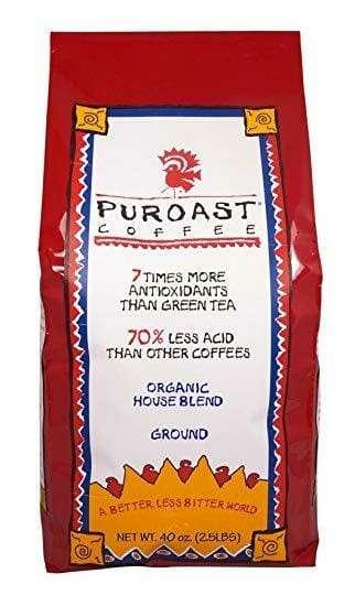 Puroast Organic Low Acid Coffee