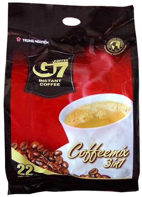 Trung Nguyen G7 3 in 1 Premium Instant Coffee