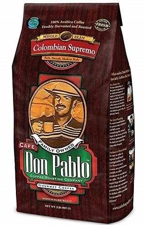 Cafe Don Pablo Gourmet Colombian Coffee