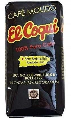 Cafe El Coqui Puerto Rican Coffee