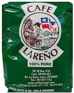 Cafe Lareno Puerto Rican Coffee