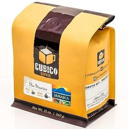 Cubico Coffee Whole Bean Jamaican Blue Mountain Coffee