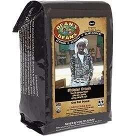 Dean's Beans Organic Ethiopian Coffee