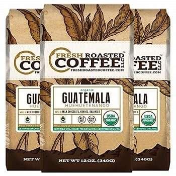 Fresh Roasted Coffee Organic Guatemalan Coffee