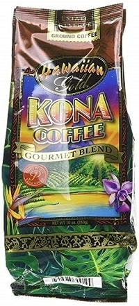 Hawaiian Gold Gourmet Blend Ground Coffee