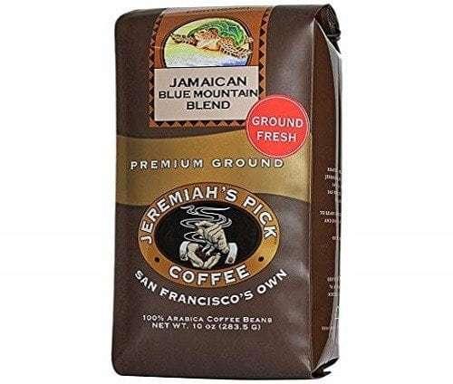 Jeremiah's Pick Coffee Co. Jamaican Blue Mountain Ground Coffee