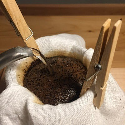 Makeshift Coffee Filter