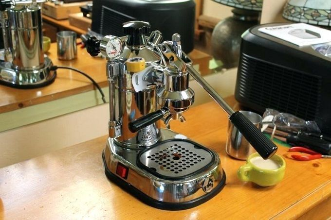 La Pavoni PPG-16 Professional Espresso Machine Review