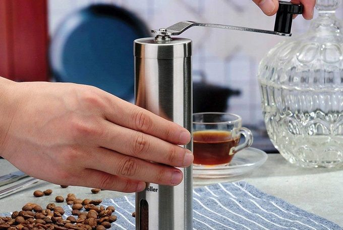 Mueller Austria Manual Coffee Grinder Review