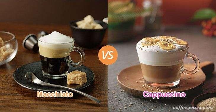 Macchiato vs. Cappuccino