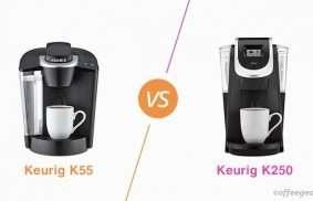 Keurig K55 Vs. K250