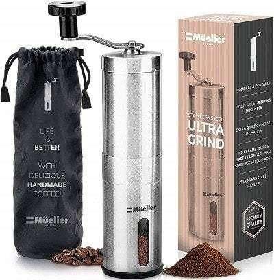 Mueller Austria Manual Coffee Grinder