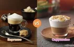 Espresso vs. Cappuccino